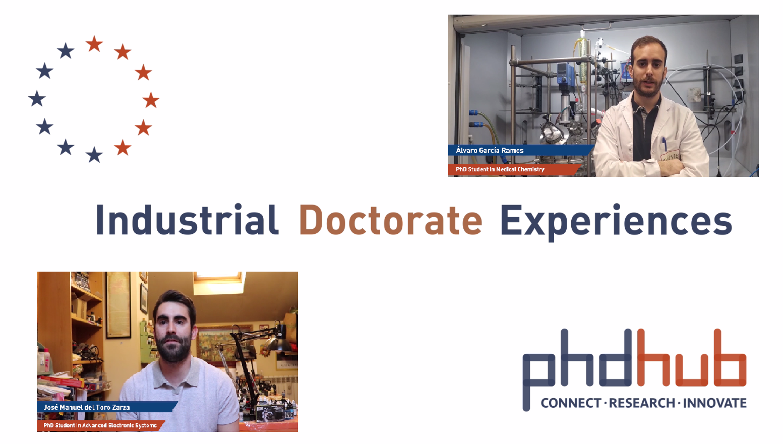 Industrial Doctorate Experiences at Alcala Hub