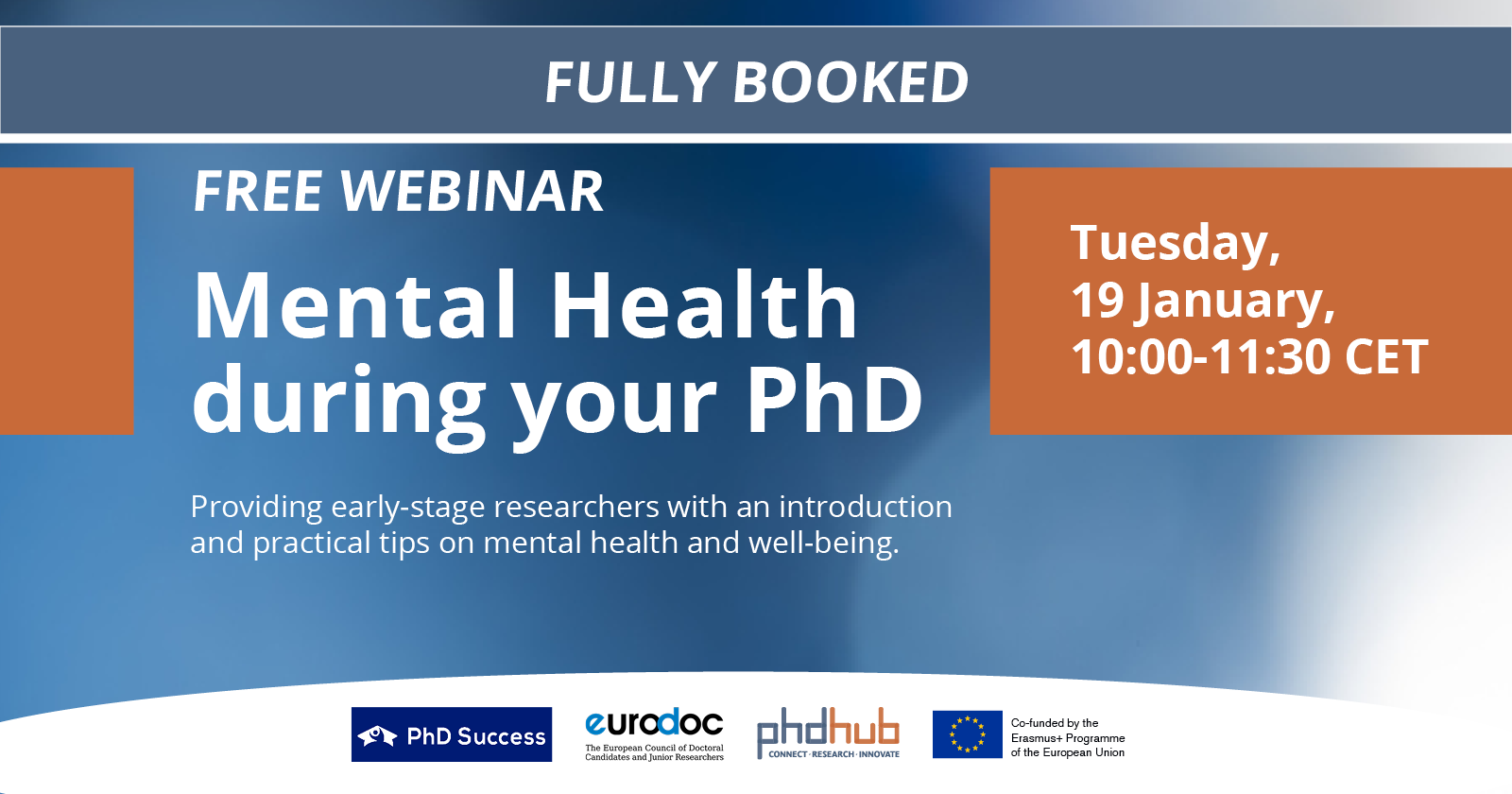 Mental Health during your PhD I Free Webinar